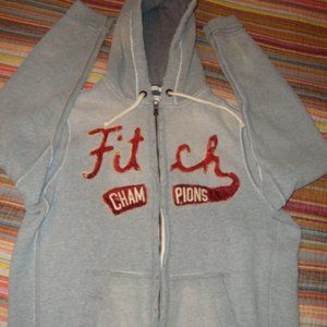 Abercrombie & Fitch muscle distressed hoodie